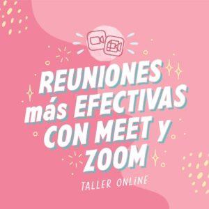 reuniones mas efectivas con meet y zoom