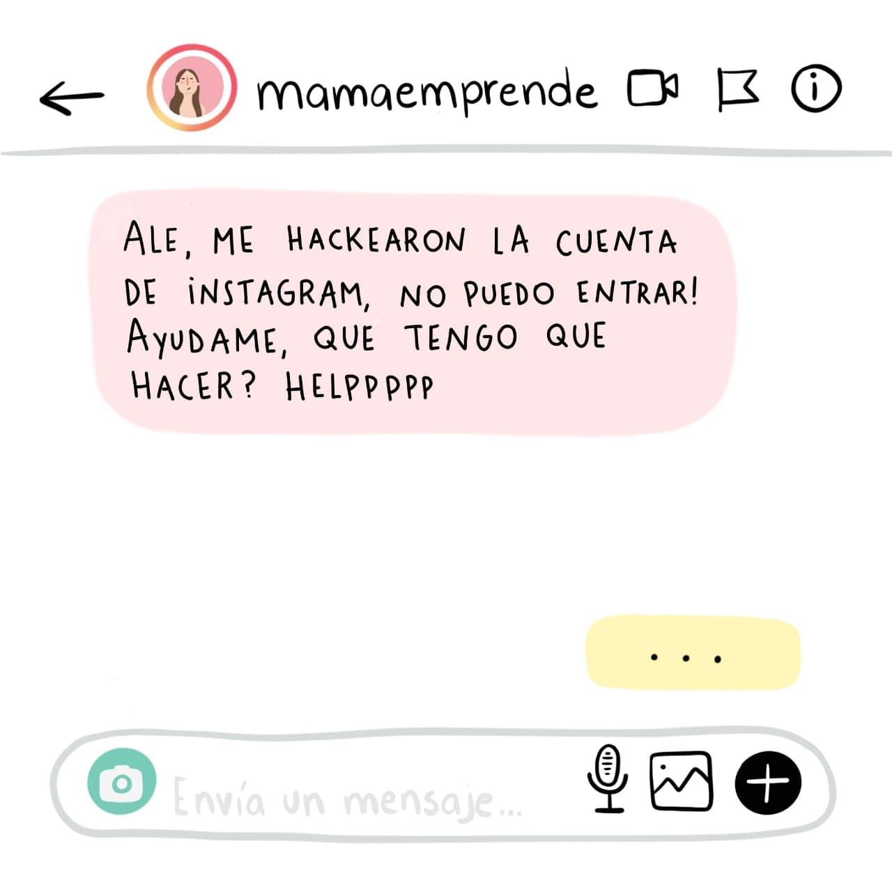 ¡Me hackearon el Instagram!